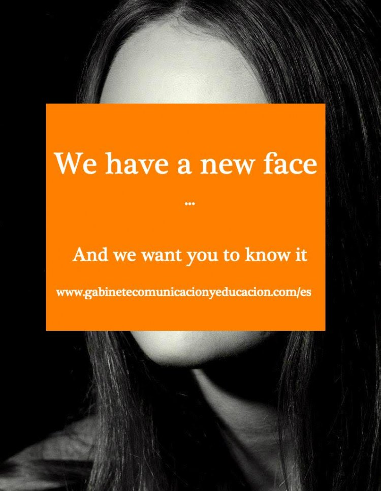 We have a new face...  And we want you to know it