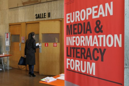 The programme includes round tables and plenary sessions about media literacy