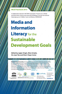 Portada Anuario MILID 2015: Media and Information Literacy for the Sustainable Development Goals