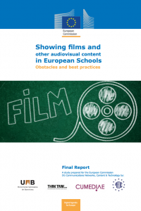 Portada Film Education in Europe: Showing films and other audiovisual content in European Schools. Obstacles and best practices (FilmEd)